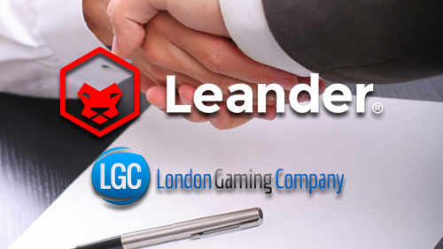 London Gaming Company Announces Partnership with Leander Games