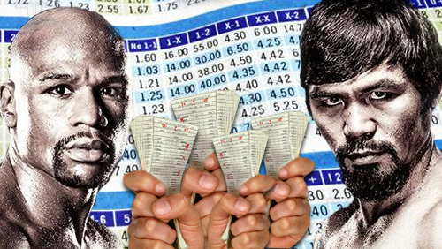 Mayweather-Pacquiao Betting Record Setting