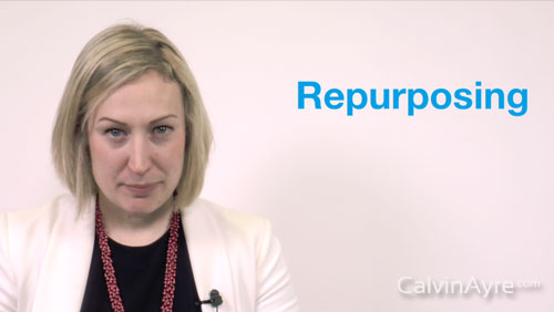 Content Marketing Tip of the Week: Content Re-Purposing