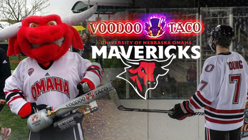 Omaha Mavericks Fans Get The Taco Cannon Treatment