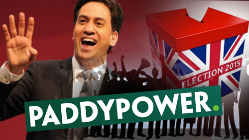 Paddy Powers says Ed Miliband favorite to become Prime Minister, faces protest from resident over new betting shop