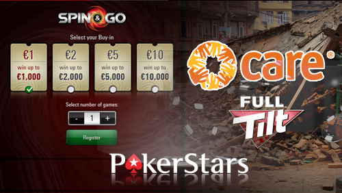 PokerStars Create a Spin & Go Mobile Millionaire, and Relief Initiative Released to Help Victims of the Nepal Earthquake