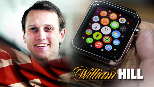 William Hill becomes the first bookie to integrate app to Apple watch