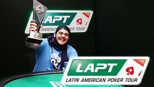 Shakeeb Kazemipur Wins the LAPT8 Main Event in Panama City