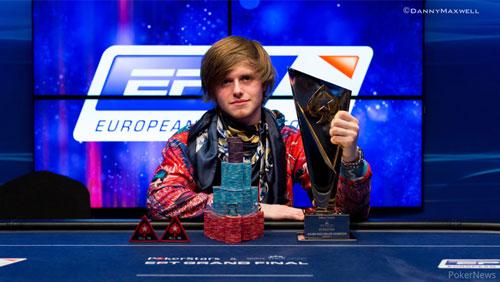 Charlie Carrel Wins the EPT Grand Final €25k High Roller