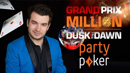 Chris Moorman Wins 25th Online Triple Crown; Partypoker Grand Prix Million Facing Huge Overlay
