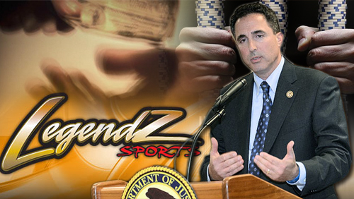 Cops split nearly $10m seized from Legendz Sports