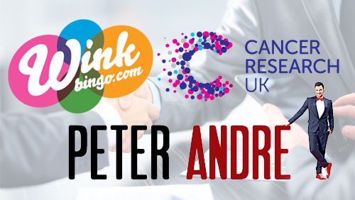 Endless love (for bingo) – Peter Andre and Wink Bingo join force to fight cancer