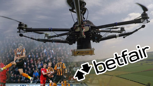 Fan Finds £5,000 'Fan Parachute Payment' dropped from Drone Over Hull