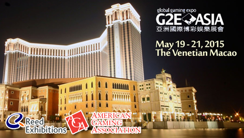 G2E ASIA 2015 to be kicked off TOMORROW