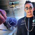 Lewis Hamilton Signs £100m Mercedes Deal