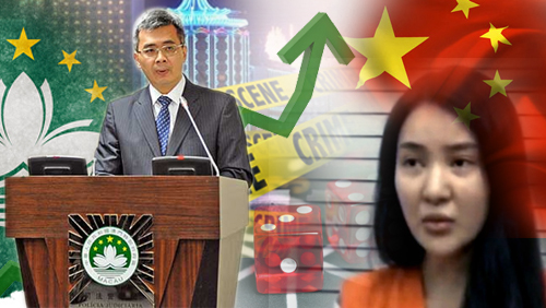 Macau Casino related crime is up 22.45%; Guo Meimei could get 10 years in prison.
