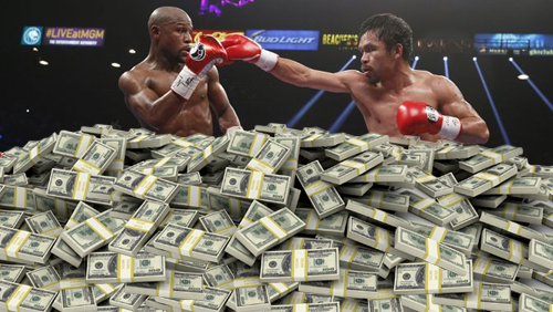 Mayweather Pacquiao fight ranks highest grossing pay per view of all time