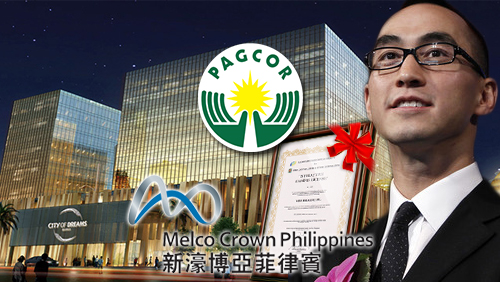 Melco Crown PH received regular gaming license in Entertainment City