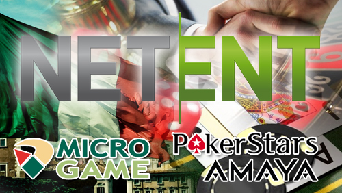 NetEnt launches online casino products on PokerStars and in Italian Market