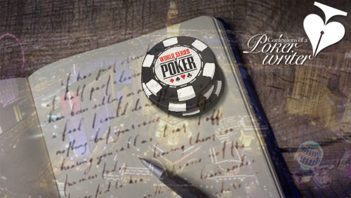 Confessions of a Poker Writer: WSOP Diaries - Killer Jacks on the River
