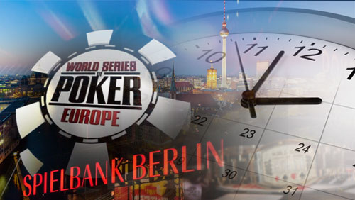 WSOPE Berlin Schedule Released: Record 10 Bracelets on Offer
