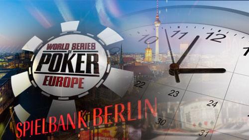 WSOPE Berlin Schedule Released: Record 10 Bracelets on Offer