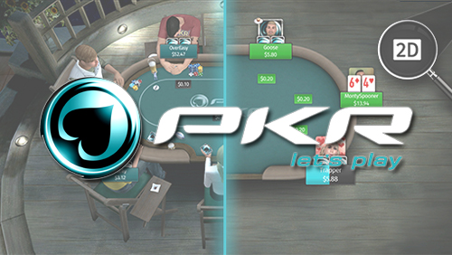 2D view a statement of intent for PKR Poker