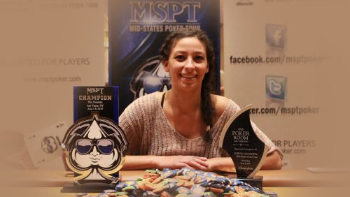 Angela Rich Becomes the First Woman to Win a MSPT Main Event