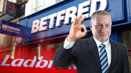 Betfred named as third bidder for Ladbrokes Irish business