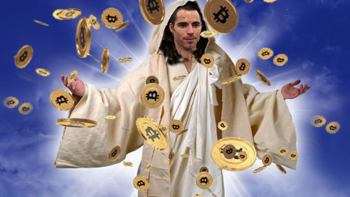 Image result for jesus bitcoin