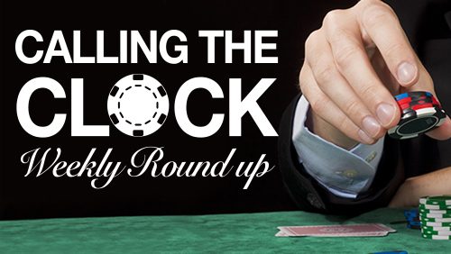 Calling the Clock: WSOPE Gold Bracelets; WPT Gold Cards and Much More