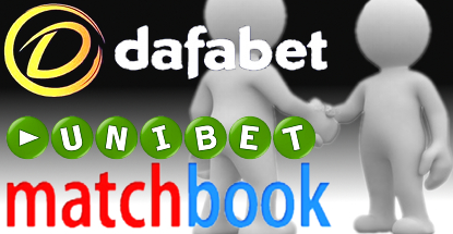 dafabet-unibet-matchbook-sponsorships