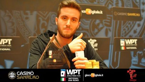 Denis Karakashi Wins WPT National San Remo
