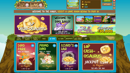 DinoBingo.com Digs Up Jurassic Prizes For Top Affiliates This Summer