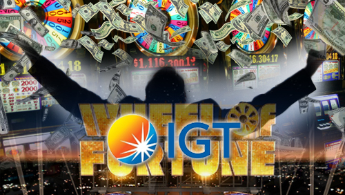 IGT's Wheel of Fortune® Slots Crown The Cromwell Las Vegas' First $1 Million Jackpot Winner