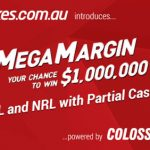 Ladbrokes Aus launch $1,000,000 MEGA MARGIN with partial-cash-out