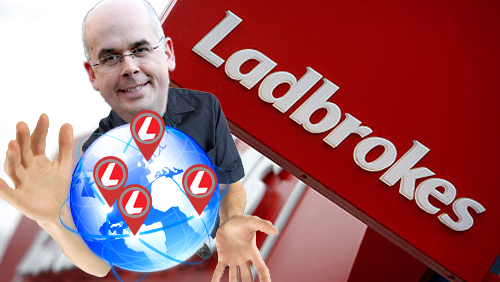 Ladbrokes to streamline international operations