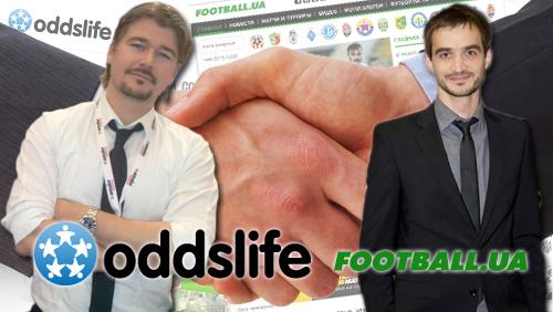 Leading Ukrainian sport media brand Football.ua joins Oddslife social sports and gaming network