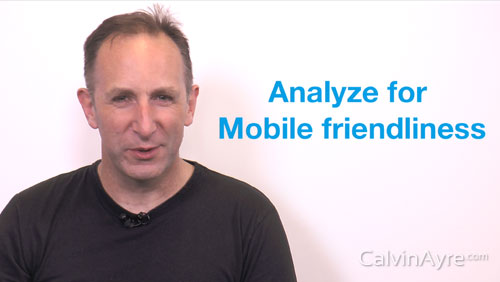 SEO Tip of the Week: Analyse Any Site for Mobile Friendliness