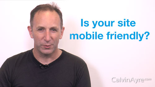 SEO Tip of the Week: Is Your Site Mobile Friendly?