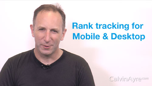 SEO Tip of the Week: Rank Tracking for Mobile and Desktop