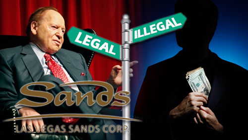 On Adelson, LVS, and Legal vs Illegal Bribery