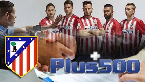 Plus500 extends sponsorship with Atlético Madrid Football Club
