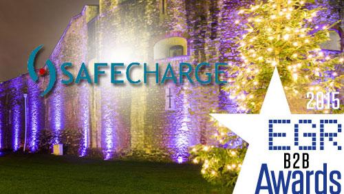 SafeCharge doubles up at EGR Awards