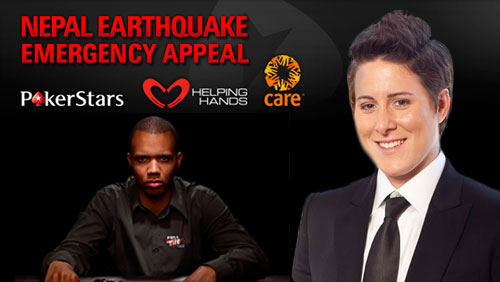 Vanessa Selbst Organizes Blinds For Justice Charity Event; PokerStars Raise Over $500k for Nepal Earthquake Fund, and Phil Ivey Wins the Biggest Pot of the Year on PokerStars