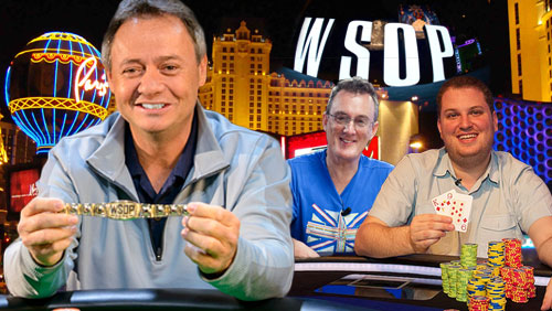 WSOP Day #27 Round Up: Travis Baker Wins the Seniors Event; Barny Boatman and Scott Seiver Looking for More Gold