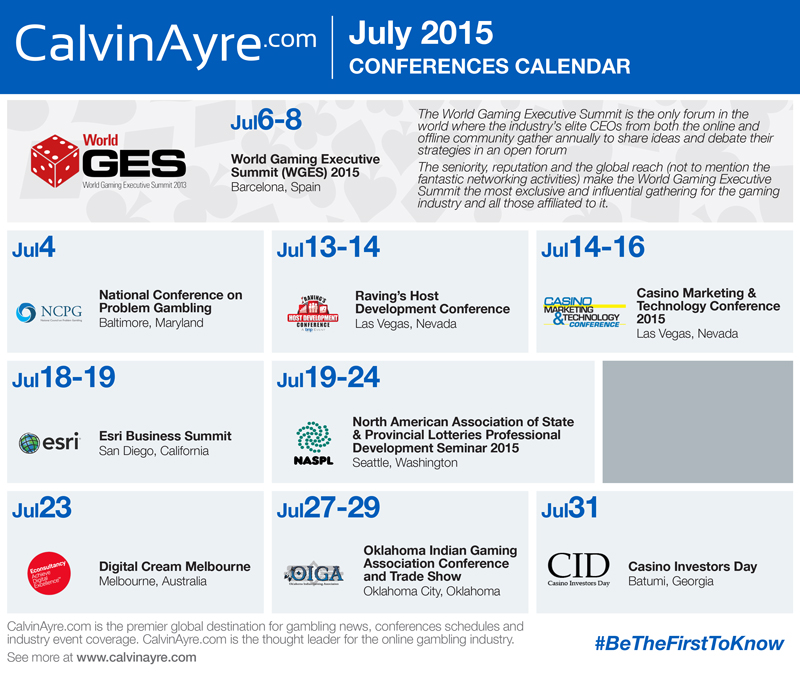CalvinAyre.com Featured Conferences & Events: July 2015