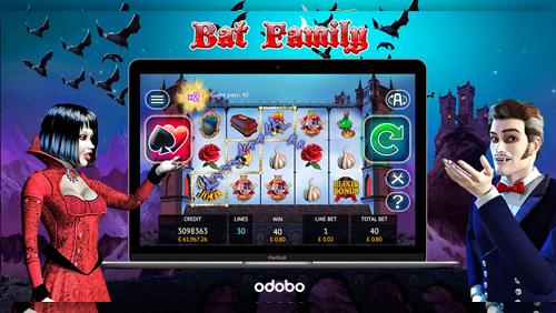 Bat Family Hit Slot Increases Mobile, Tablet and Desktop Distribution via Odobo