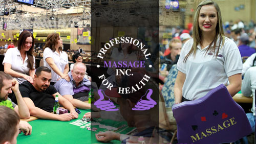 Celebrating a Decade of WSOP Massage Work With Professional Massage Inc.
