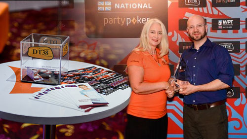 Jeffrey Haas Tops Charity Field as PartyPoker Raise Money for the DT38 Foundation