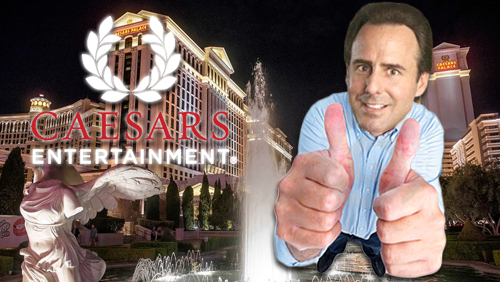 Mark Frissora assumes Caesars' President and CEO role