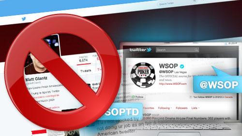 Matt Glantz Blocked by WSOP TD Jack Effel on Twitter; Kerstetter Asks if Teenage Girls are Running the WSOP Twitter Accounts