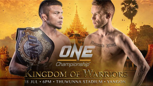 ONE: Kingdom of Warriors Official Weigh-In Results