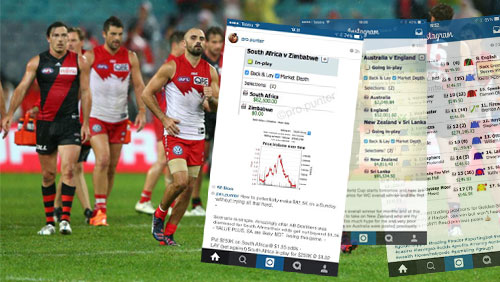 Online gambling syndicate recruits athletes, under investigation